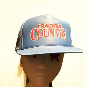 Vintage Tracker Country Trucker Snap Back Hat